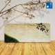 Restaurant supply eco friendly melamine sushi rectangular plate