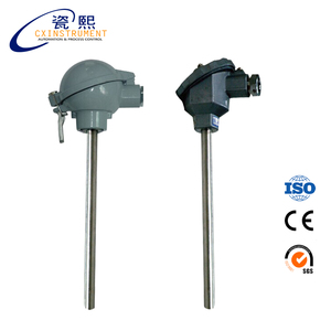 2--3 CX-WR Armored Thermocouple with Movable Flange