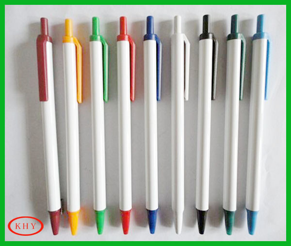 Wholesale Retractable Ball Point Pen for School and Office Using
