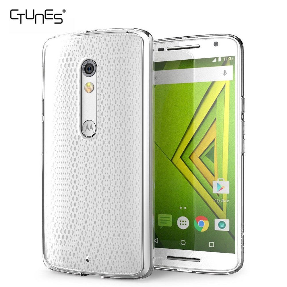 For Moto X Play Cover, Ultra-thin Full-Body Protective Flexible TPU Soft Protective Case Cover For Motorola Moto X Play