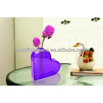 Clear Bud Vaseacrylic Flower Holder Crystal Flower Box Buy
