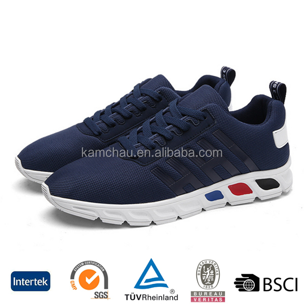 wholesale deals good quality oem design durable custom made men laces sports running sneakers