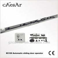 Auto sliding door operator with remote control