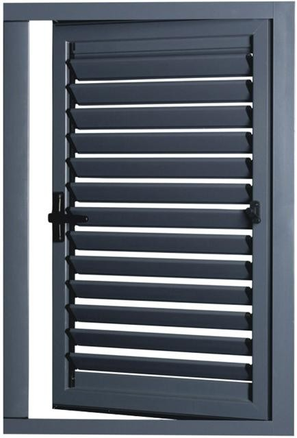 Aluminum Alloy Exterior Glass Louver Door Buy Exterior