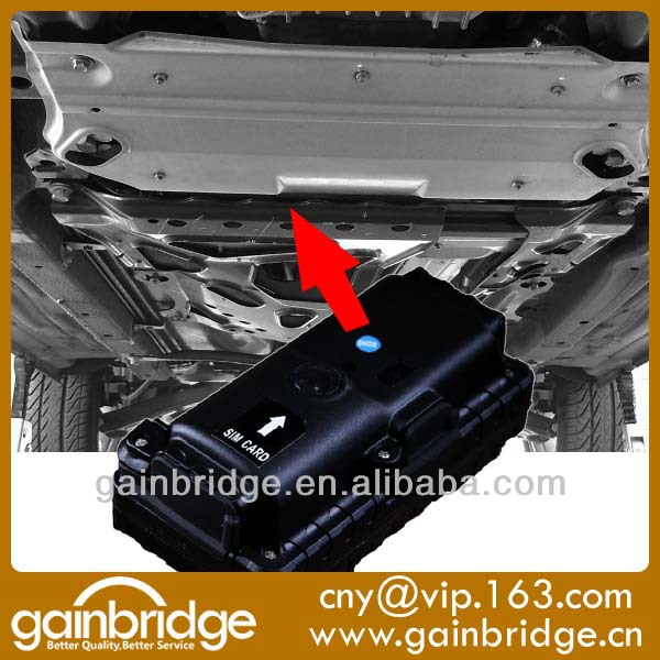 Gps Portable Tracker Placed Under The Car For Law Enforement ...