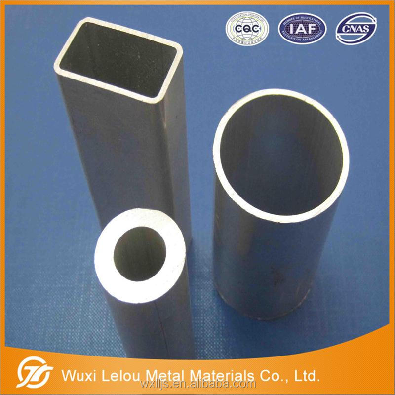 Aluminum Silver Tube Buildings Materials