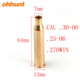 Ohhunt CAL.30-06 .25-06 270WIN Cartridge Laser Boresight Colimador Red Laser Bore Sighter For Hunting