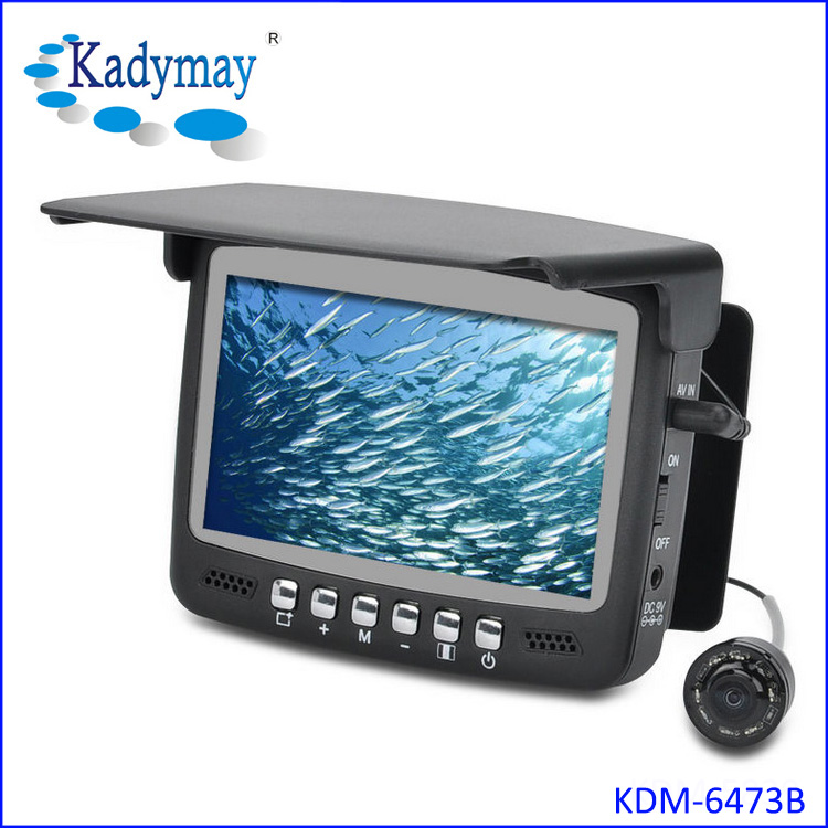 Under water fish finder video camera 800TVL 15/30meters cable 4.3 Inch Screen