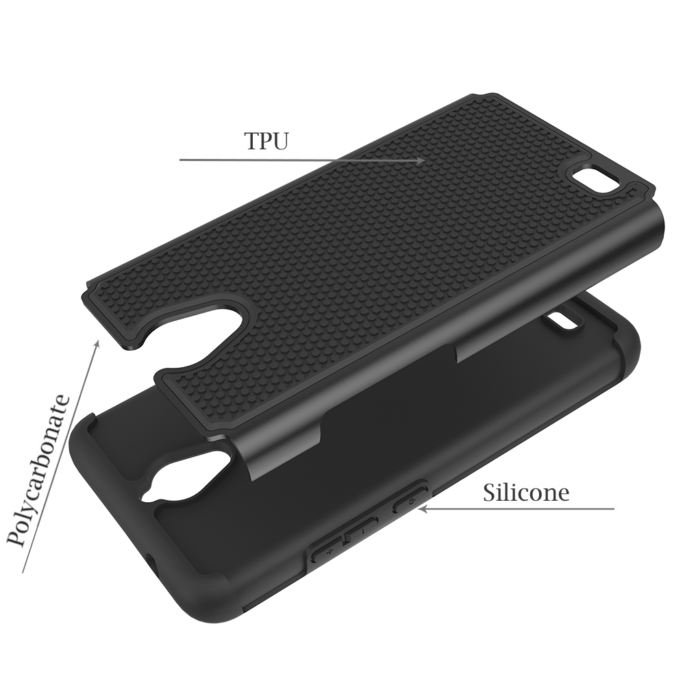 Mobile Cell Phone Cover For Alcatel QS5509A Shockproof Back Cover Case For  Alcatel QS5509A, View Back Cover Case For Alcatel QS5509A, ODM Product
