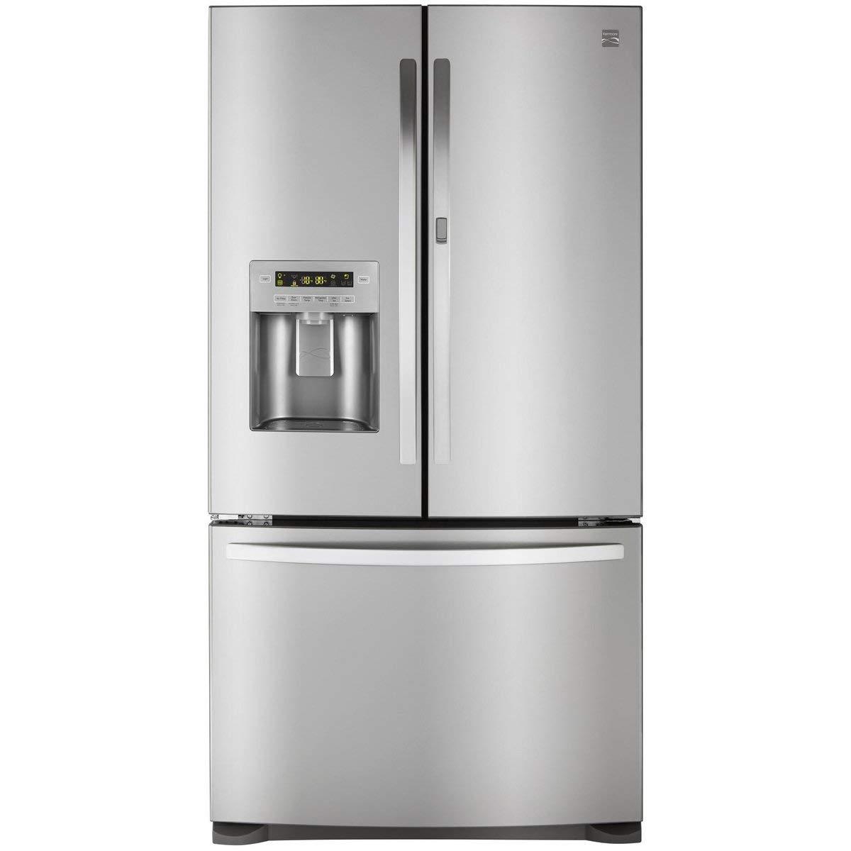 Kenmore 73063 26.6 cu. ft. French Door Bottom Freezer Refrigerator with Grab-N-Go Door in Stainless Steel, includes delivery and hookup