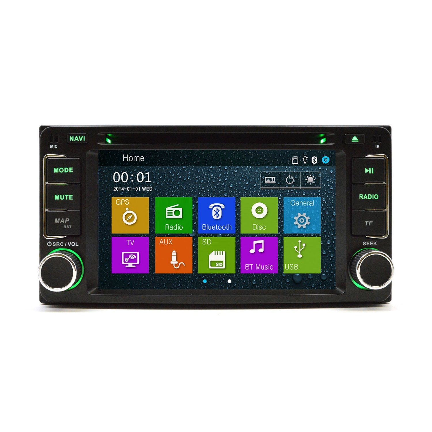 Cheap Scion Tc Touch Screen Radio Find Audio Wiring Diagram Get Quotations Ottonavi Xd 07 11 In Dash Multimedia Bluetooth Gps Navigation