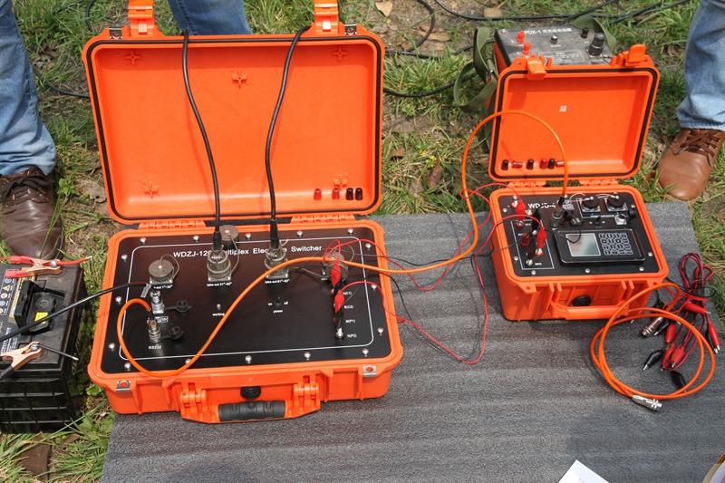 Resistividade Metros para Exploração de Águas Subterrâneas de Detecção de Água Subterrânea Localizador Localizador Detector