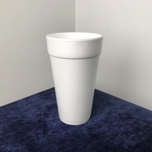 Disposable EPS foam Insulated Drinking Cup 710ml 24oz