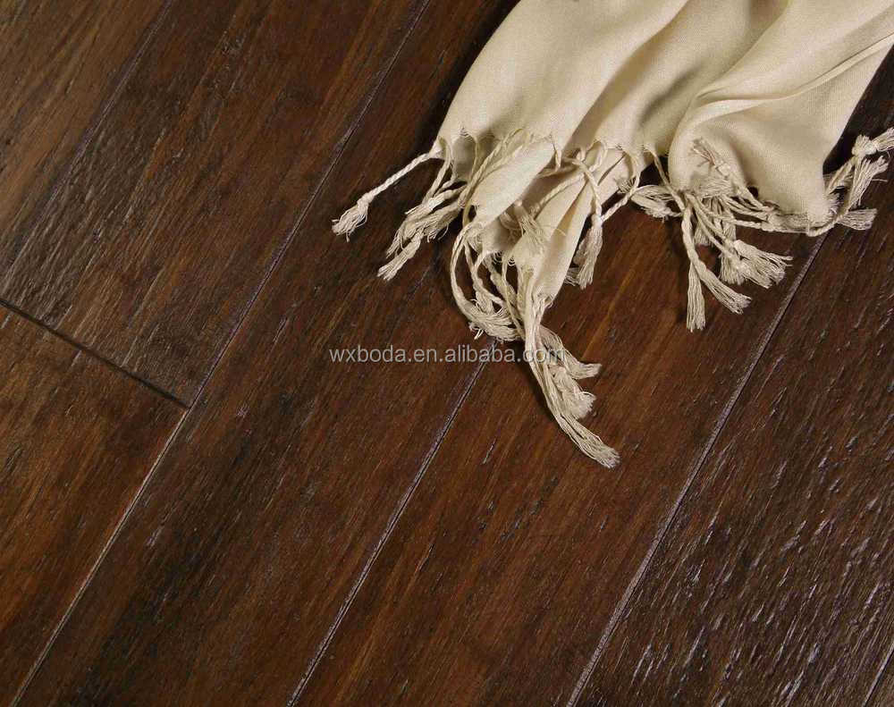 Embossed Cheap Bamboo Floor Titles-Inca gold