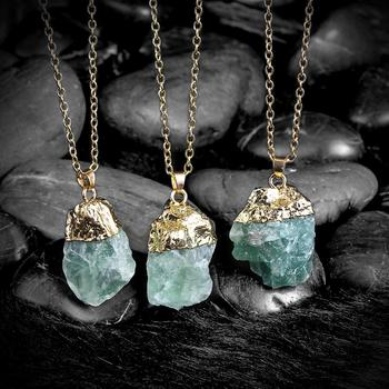 Hot druzy quartz natural stone irregular geode green quartz 18k gold hot druzy quartz natural stone irregular geode green quartz 18k gold plated raw stone pendant necklace aloadofball Image collections
