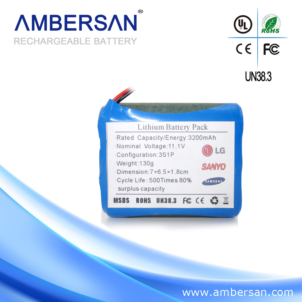 China akku supplier 12 volt 2Ah 3AH 4ah 5ah 6ah 7ah rechargeable 12V lithium ion battery