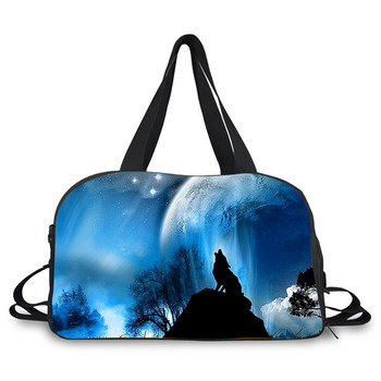 b325a3a6007 Nice starry sky print travelling luggage overnight duffel bag for students