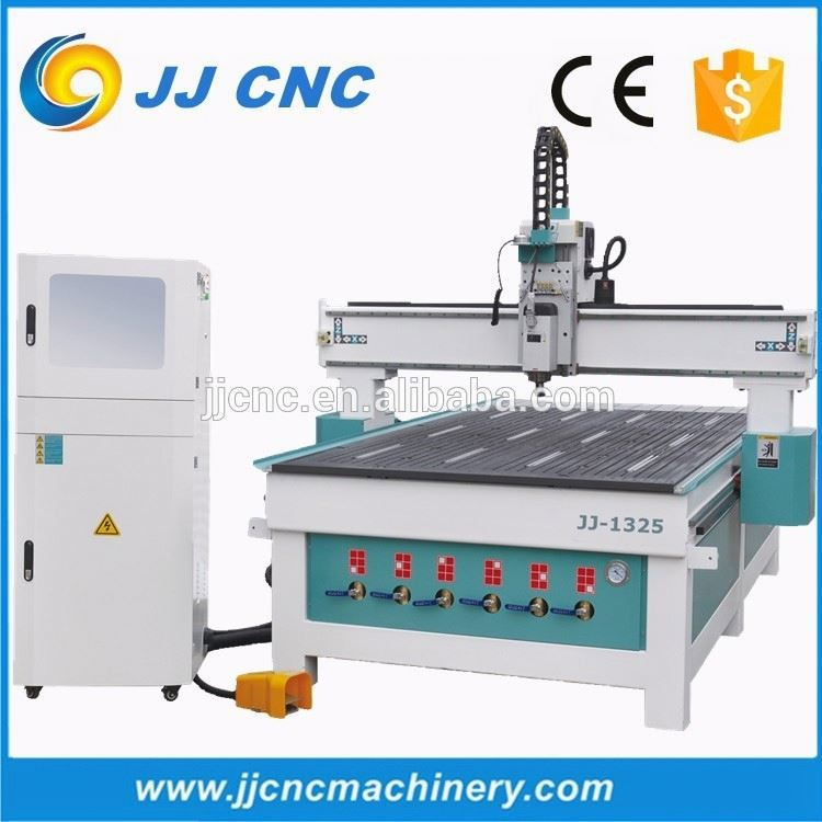 Higher speed vacuum and T-slot table 3d cnc engraver and cutter