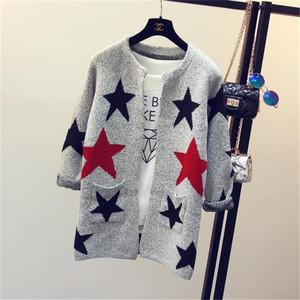 Wholesale Long Sleeve Women Ladies Fancy Cardigan Wool Sweater with Pocket 9449125dd