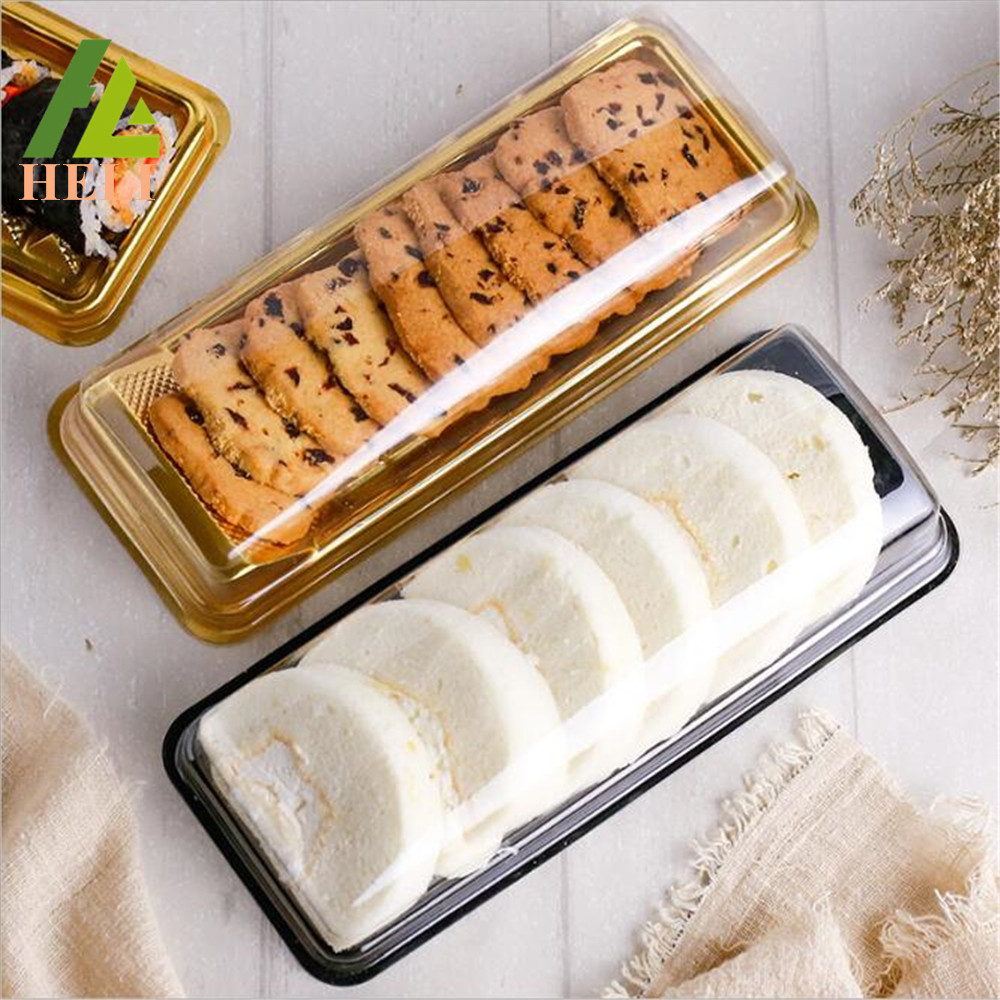 Long Plastic Biscuit Packaging Tray