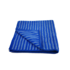 Professional Microfibre Bamboo Fabric Warp Knitting Stripe Scrubbing Kitchen Cloth Multipurpose Towel Home Textile