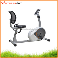 Fitness equipment home designed magnetic exercise recumbent bike RB8621-4