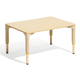 Preschool Adjustable Learning Study Wooden Table for Kids