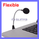 Frequency Response 30-16KHz Hands Free VoIP External Microphone for Laptop