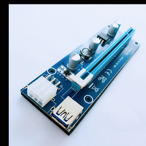 Newest Antminer 6pin pci-x to pci-e express bit miner