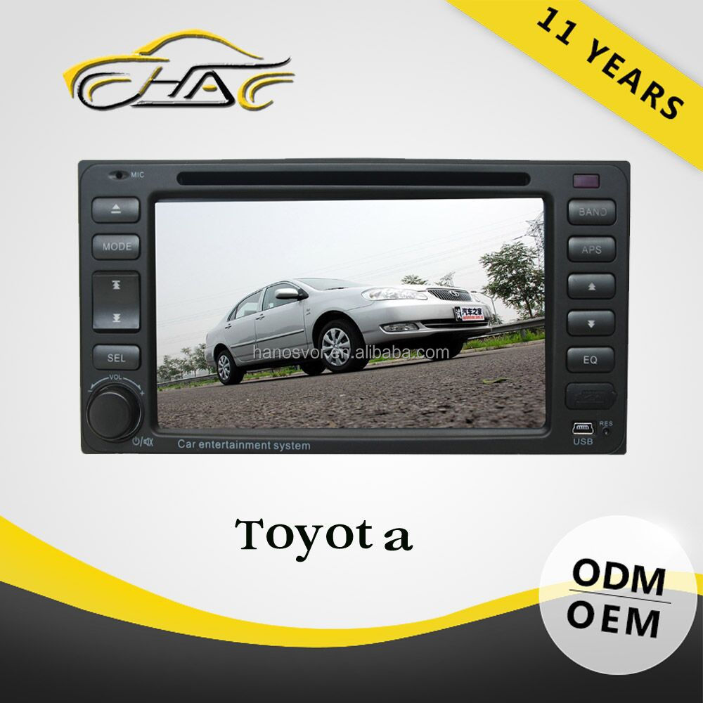 2 din navigation system for toyota automotive universal dvd discount Highest Level With Logo