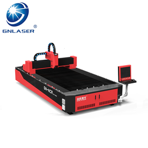 CNC Metal fiber laser cutting machine with advanced PWM power control