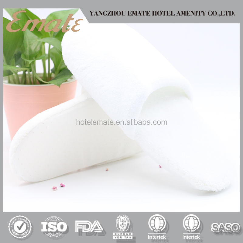 Disposable hotel velvet slipper