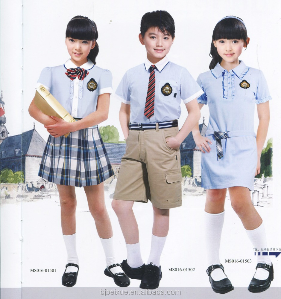 Custom school uniforms manufacturer kids school uniforms for preschoolers