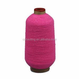 elastic rubber thread covered nylon in high quality