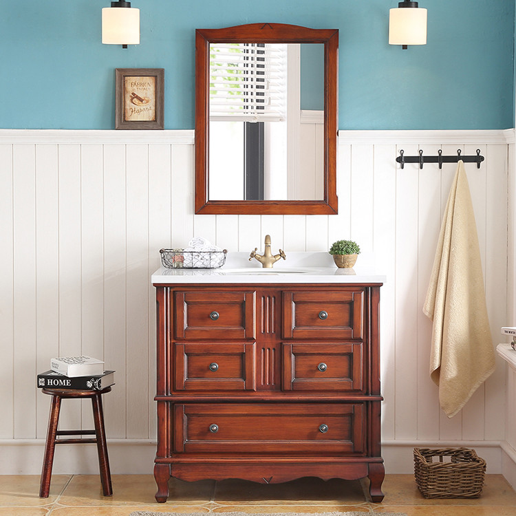 online shop china cheap wooden vanity wooden bathroom wall cabinet wooden bathrooms cabinets set