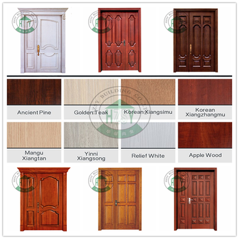 Hot sale & high quality pivot doors modern wood door designs