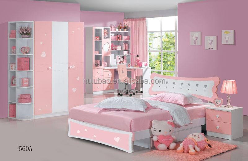 Kids Bedroom Set For Girls/kids Bedroom Furniture Children Bedroom Set Made  In China#560a - Buy Kids Cartoon Bedroom Set,Princess Kids Bedroom ...