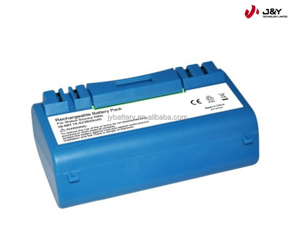 nimh 14.4v 3500mAh replacement scooba 330 battery pack compatible with 340 350 5800 5900 34001
