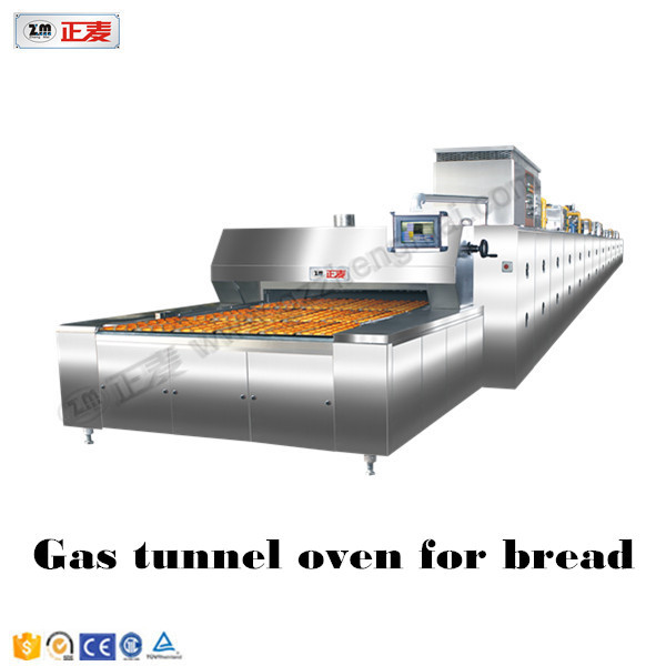 Pizza tunel oven gas power source