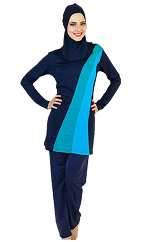 cbd283b5ef Modest Muslim Swimwear Islamic Swimsuit For Women hijab swimwear full  coverage swimwear muslim swimming beachwear swim