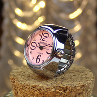 Korean fashion wholesale Individual men and women finger watch hot selling lovers ring watch ring