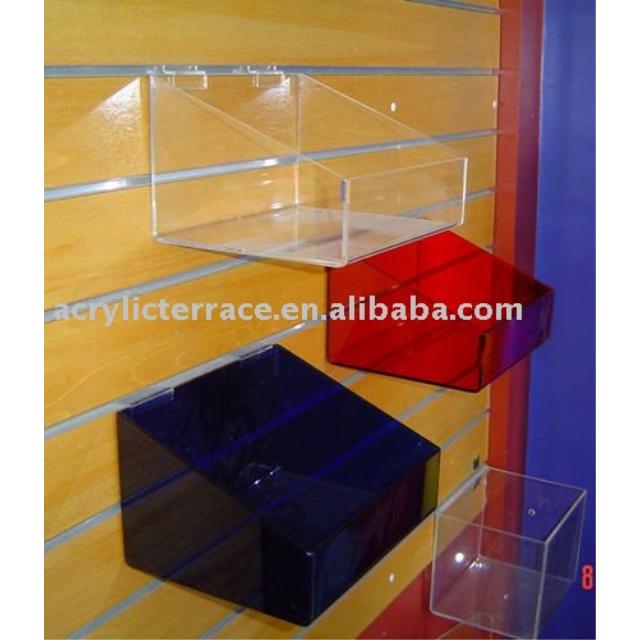 Plastic Slatwall Storage Bins, Plastic Slatwall Storage Bins Suppliers And  Manufacturers At Alibaba.com