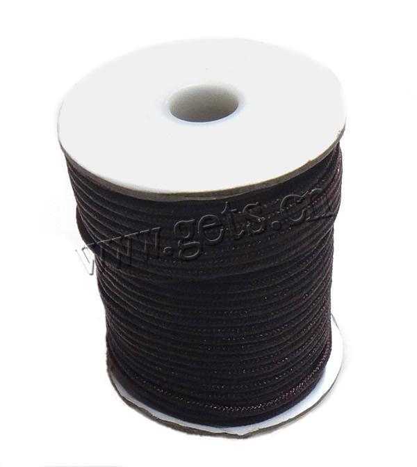 black 1.5mm asian clover cord knotting