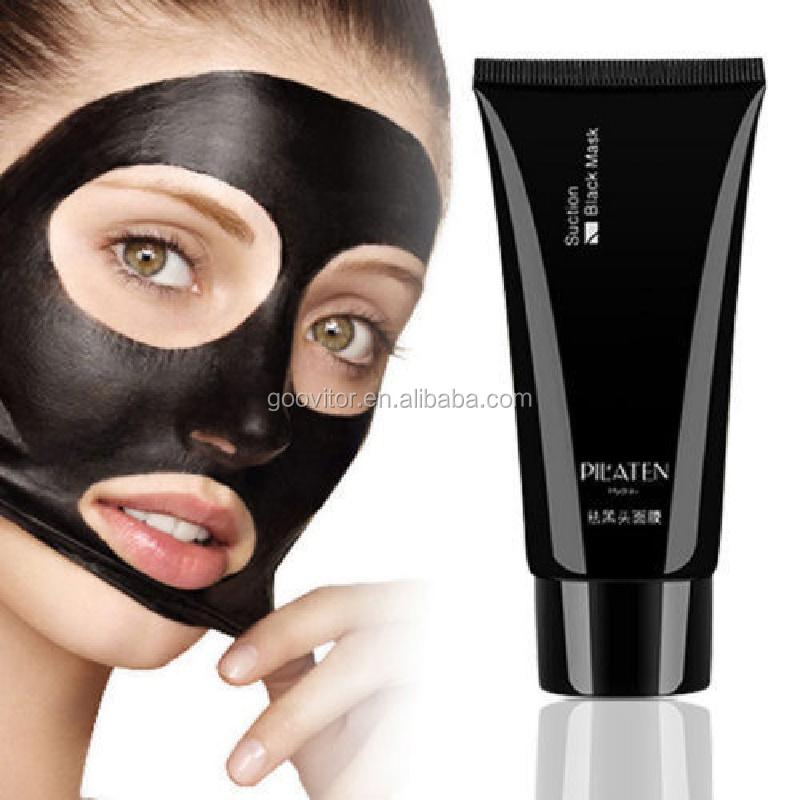 PILATEN Face Care Black Mask Facial Mask Blackhead Remover Peeling Acne Skin Treatments Remove Dots Black Mud Mask, N/a