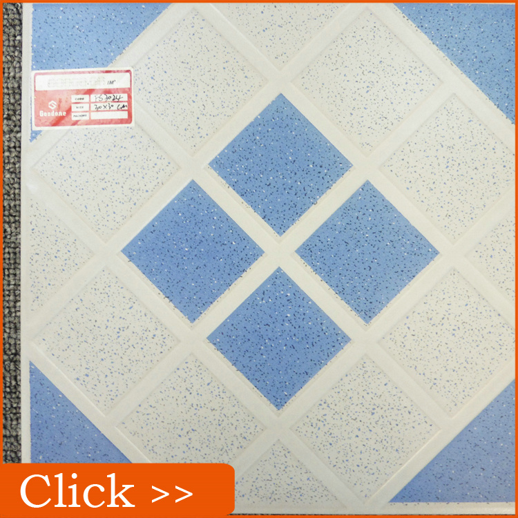 Bathroom Design Ocean Blue and White Color Ceramic Tiles