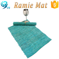 2016 new 100% natural eco-friendly ramie color printed tablemat