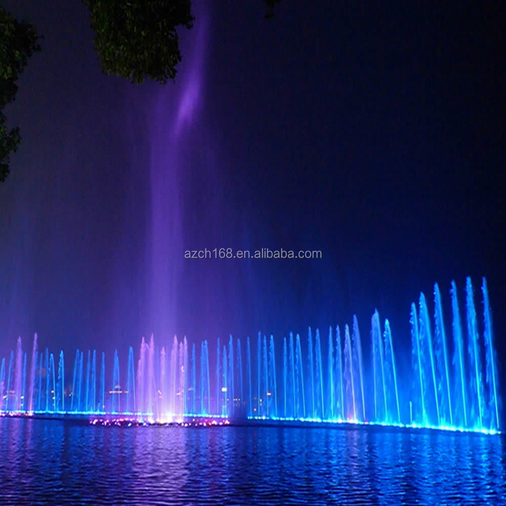 Modern Art Outdoor Musical Dancing Water Fountain Lake Fountain