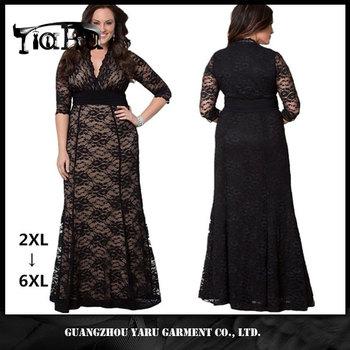 Fat Women Dresses Lace Dress Patterns Plus Size Evening Dress View Fat Women Dresses Lace Dress Patterns Yaru Product Details From Guangzhou Yaru Garment Co Ltd On Alibaba Com