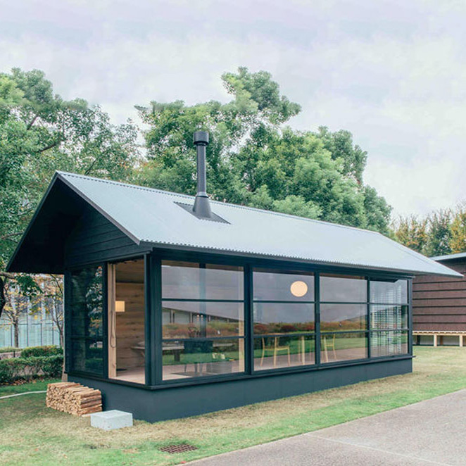 Newly designed steel structure prefab home