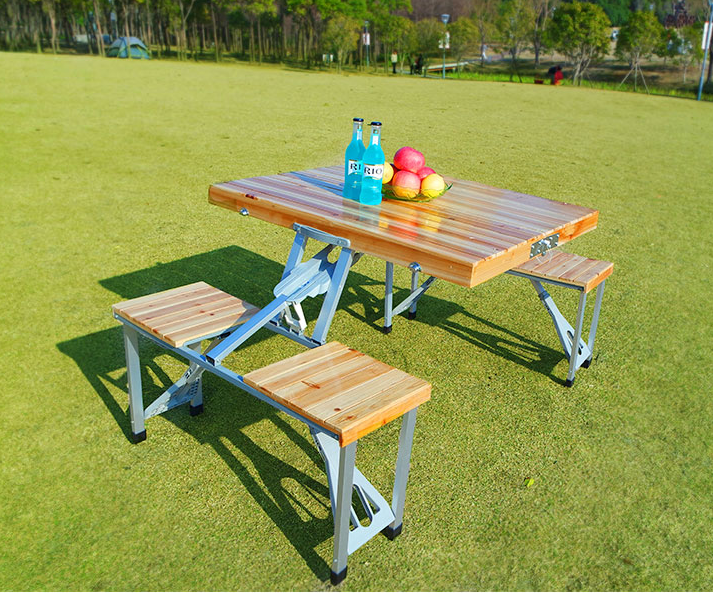 Tremendous Popular Style Camping Wood Folding Picnic Table With 4 Seats Buy Wood Folding Picnic Table With 4 Seats Wood Picnic Table With 4 Seats Folding Gamerscity Chair Design For Home Gamerscityorg